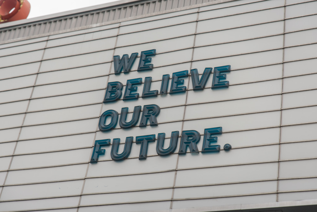 WE BELIEVE OUR FUTURE.