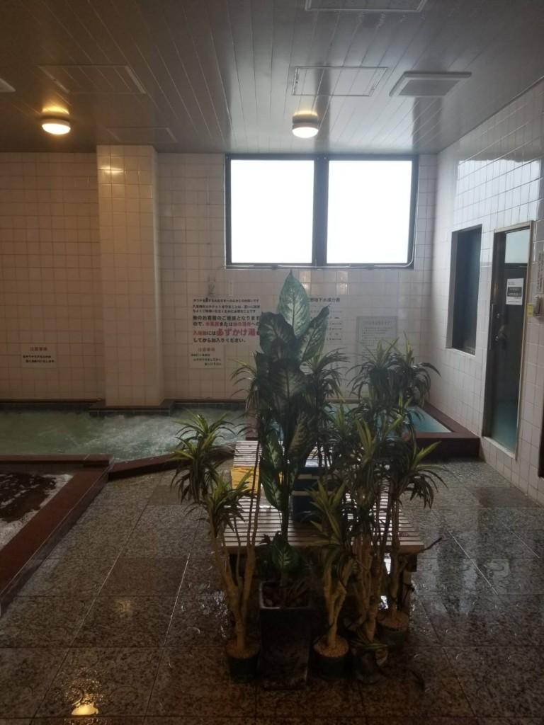 外気浴スペース